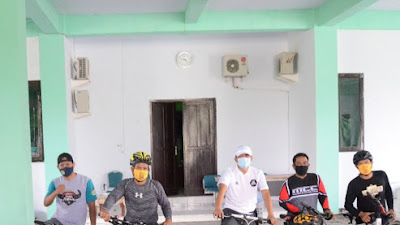 """Sudah 2 Bulan Bersepeda ke Kantor, Ketua DPRD Soppeng Ajak Pegawai Terapkan """"Bike To Work"""""""