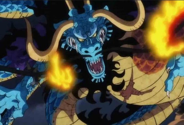 Not Kaido, this is the leader of the Beasts Pirates?