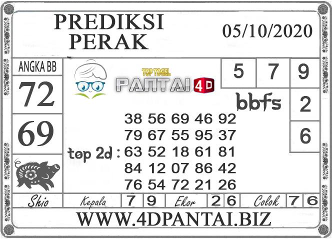 PREDIKSI TOGEL PERAK PANTAI4D 05 OKTOBER 2020