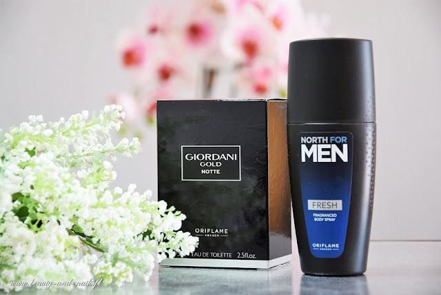 NORTH for MEN Fresh i Giordani Gold Notte - Oriflame.