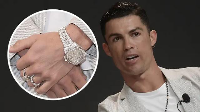 Tajir! Cristiano Ronaldo Jadi Pemilik Jam Tangan Rolex Termahal dalam Sejarah