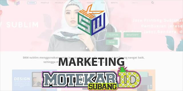 Info Lowongan Kerja Marketing SKW Sublim Bandung 2019