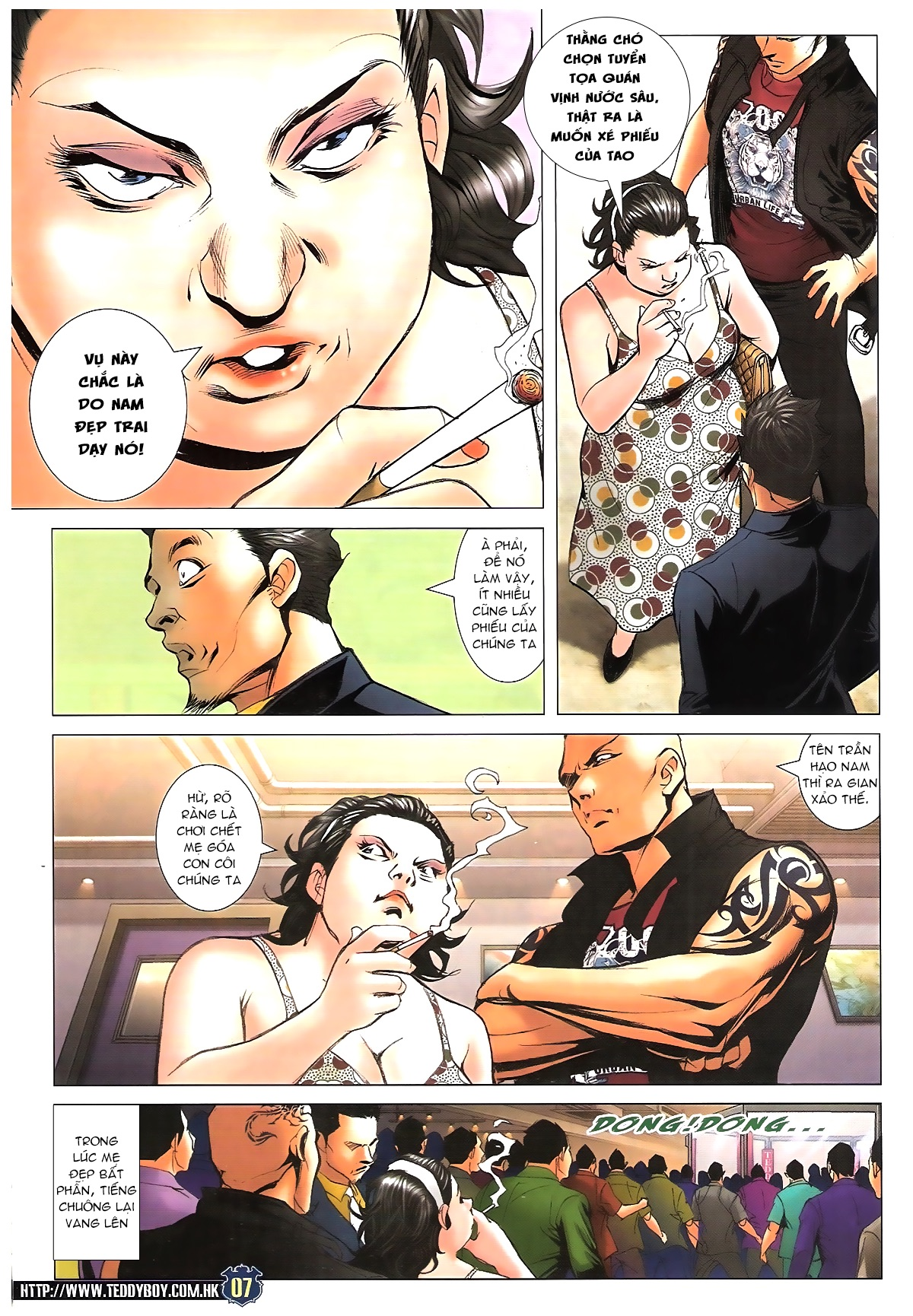 Người Trong Giang Hồ - Chapter 1627: Sợ vỡ mật - Pic 6