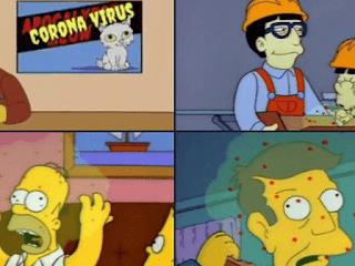 prediksi the simpson virus corona