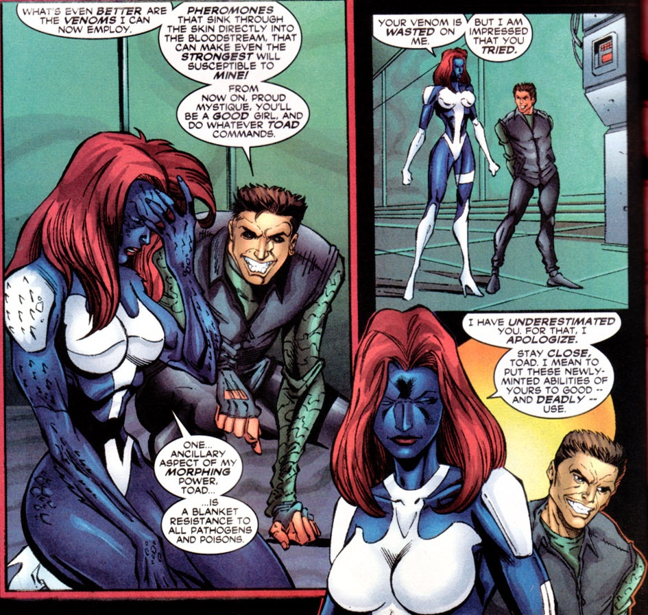 Chris Claremont: Mind Control Central: Mind Control On The ... X Men Girl Power Form