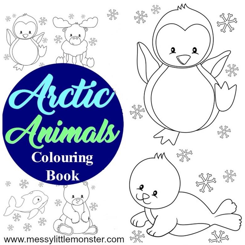 Arctic animal snow activities for kids