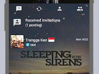 BBM Sleeping With Sirens V2.11.0.18 Apk Terbaru