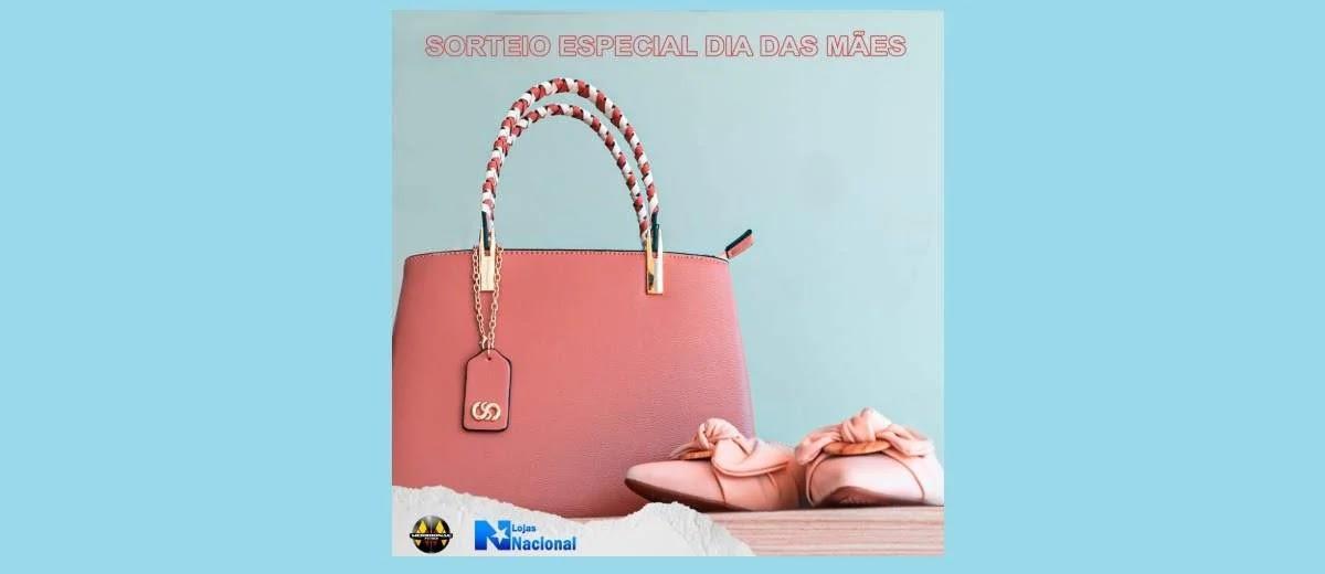 Promoção Lojas Nacional Dia das Mães 2020 - Participe Grátis Concorra Bolsa + Sapato