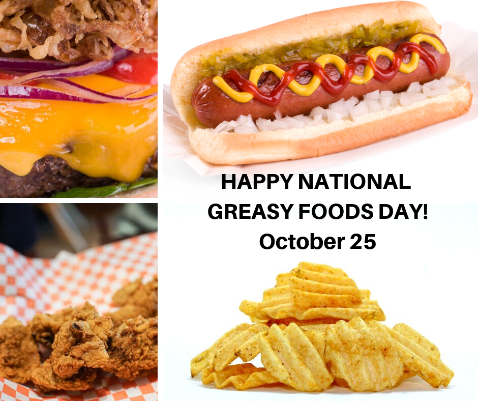 National Greasy Foods Day Wishes Images download