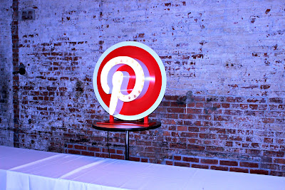 Pinterest Neon Sign Brunch Buffet at #WeAllGrowNYC 2015