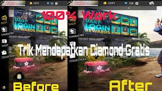 Cara MenDapat Diamond Gratis FF Tanpa Aplikasi