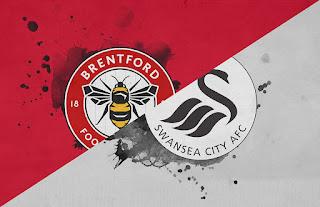 Brentford vs Swansea City  prediction Preview and Odds.