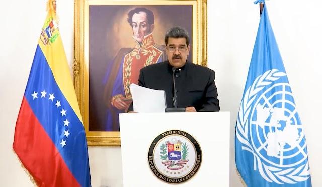 Nicolás Maduro repudió ante la ONU guerra multidimensional a Venezuela