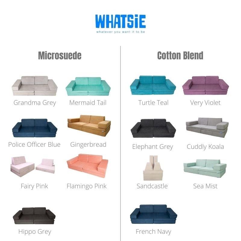 whatsie colour options