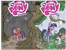 My Little Pony Micro Series #1 Comic Cover Double Variant