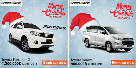 Hiring a car for Christmas and New Year 2017