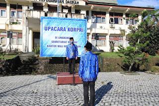 Apel KORPRI di Lingkup Sekretariat Daerah Kota Tarakan
