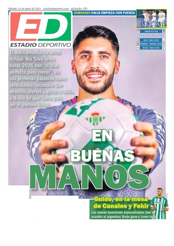 """Betis, Estadio Deportivo: """"En buenas manos"""""""