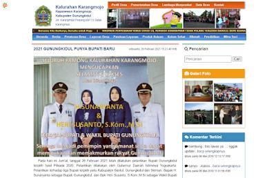 Jasa Buat Website Desa Karangmojo