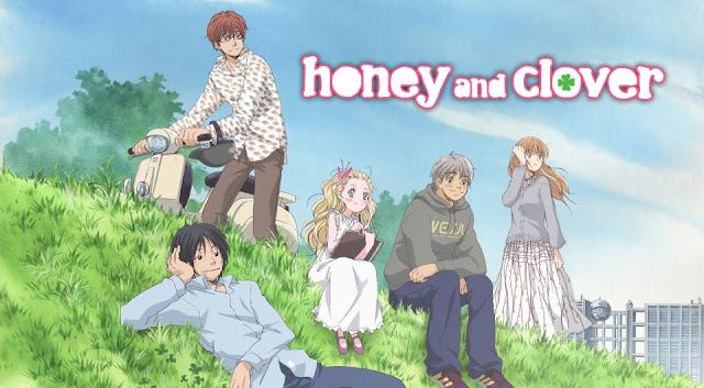 Honey and Clover | Hachimitsu to Clover | 480p | DVDRip | Dual Audio