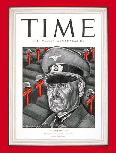 Time cover of Franz Halder worldwartwo.filminspector.com