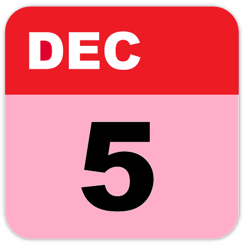 History of December 5-Important Events,Festivals,Born and Deaths of famous People