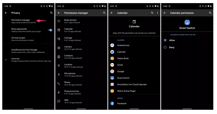Improved Privacy On Android 10 - Android Q