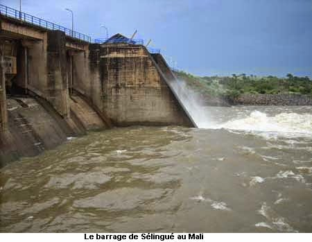 Barrage hydroélectrique de Sélingué