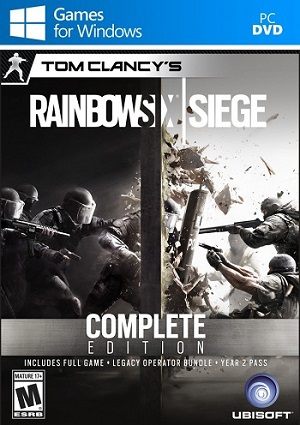 tom clancys rainbow six siege complete edition