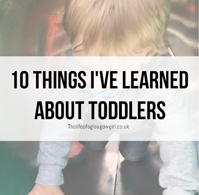 Main blog post image for 10 things I've learned about toddlers - The things no one tells you about toddlers.