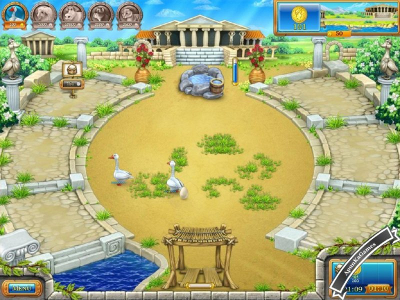Farm Frenzy Ancient Rome Screenshots