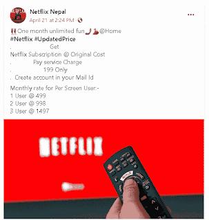 Netflix sale