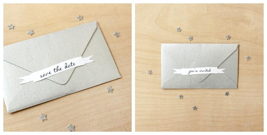 Pimping Your Wedding Invitation Envelope