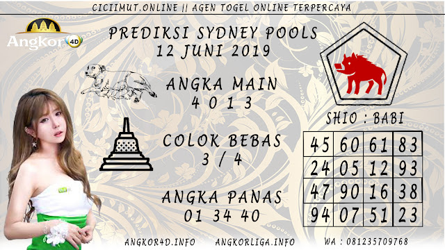 PREDIKSI SYDNEY POOLS 12 JUNI 2019