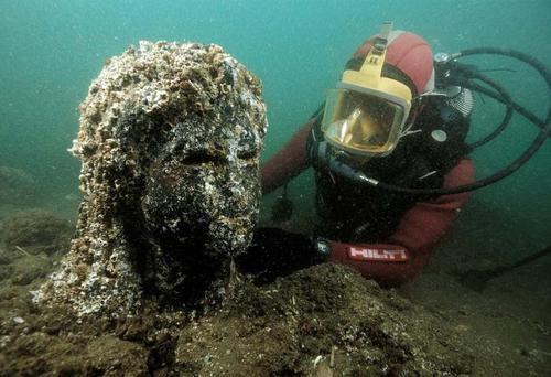 Menguak Misteri Heracleion, Kota Bawah Laut Mesir