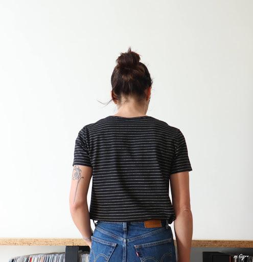 """Un Petit T-shirt """"Maison""""... (Patron maison) par m Gg++"""