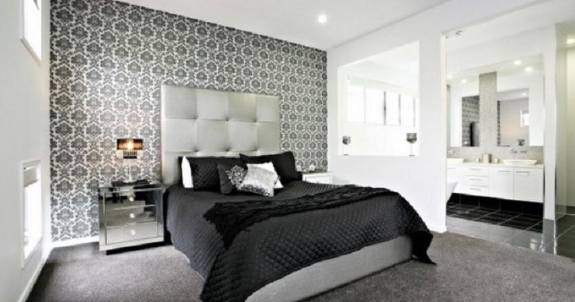 Desain Wallpaper Dinding Kamar Tidur Minimalis Cantik Chp
