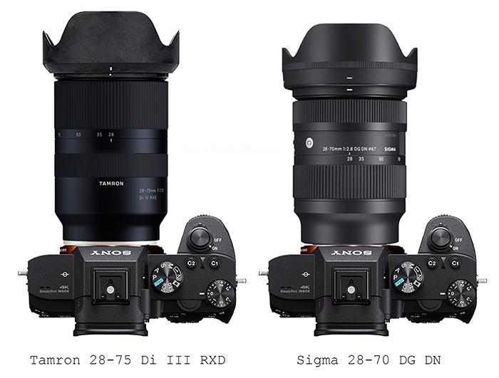 Сравнение объективов Tamron 28-75mm f/2.8 и Sigma 28-75mm f/2.8 на камерах Sony