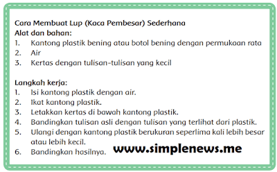 Cara Membuat Lup (Kaca Pembesar) Sederhana www.simplenews.me