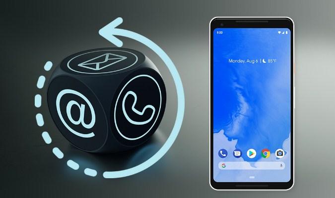 Aplikasi Backup Kontak Terbaik tuk Android