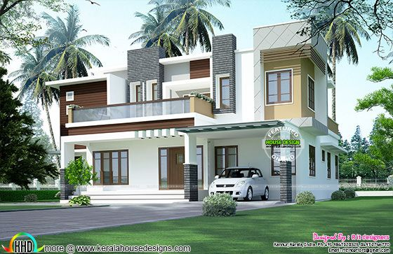 3 BHK modern box home