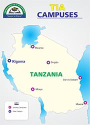 Selected Candidates for Bachelor Degree Programmes Round 1  TANZANIA INSTITUTE OF ACCOUNTANCY  (TIA)