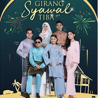 Lirik Lagu Girang Syawal Tiba - Haqiem Rusli, Zoey Rahman,Tajul, Ernie Zakri, Wani, Sissy Imann