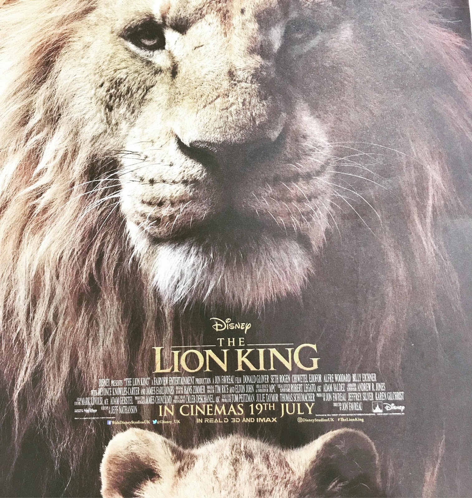 Readers Enjoy Authors Dreams Film Review The Lion King 2019
