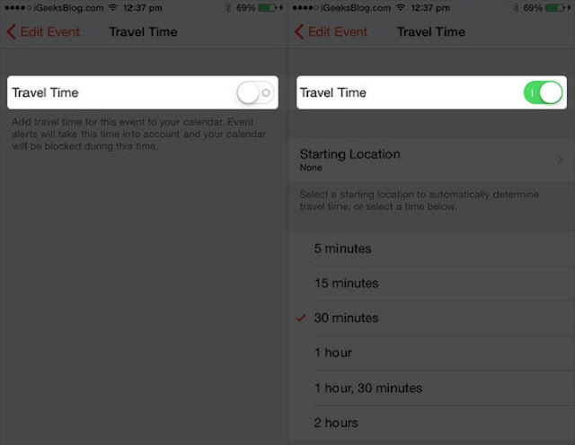 How to Add Travel Times to Calendar Events on iPhone and iPad