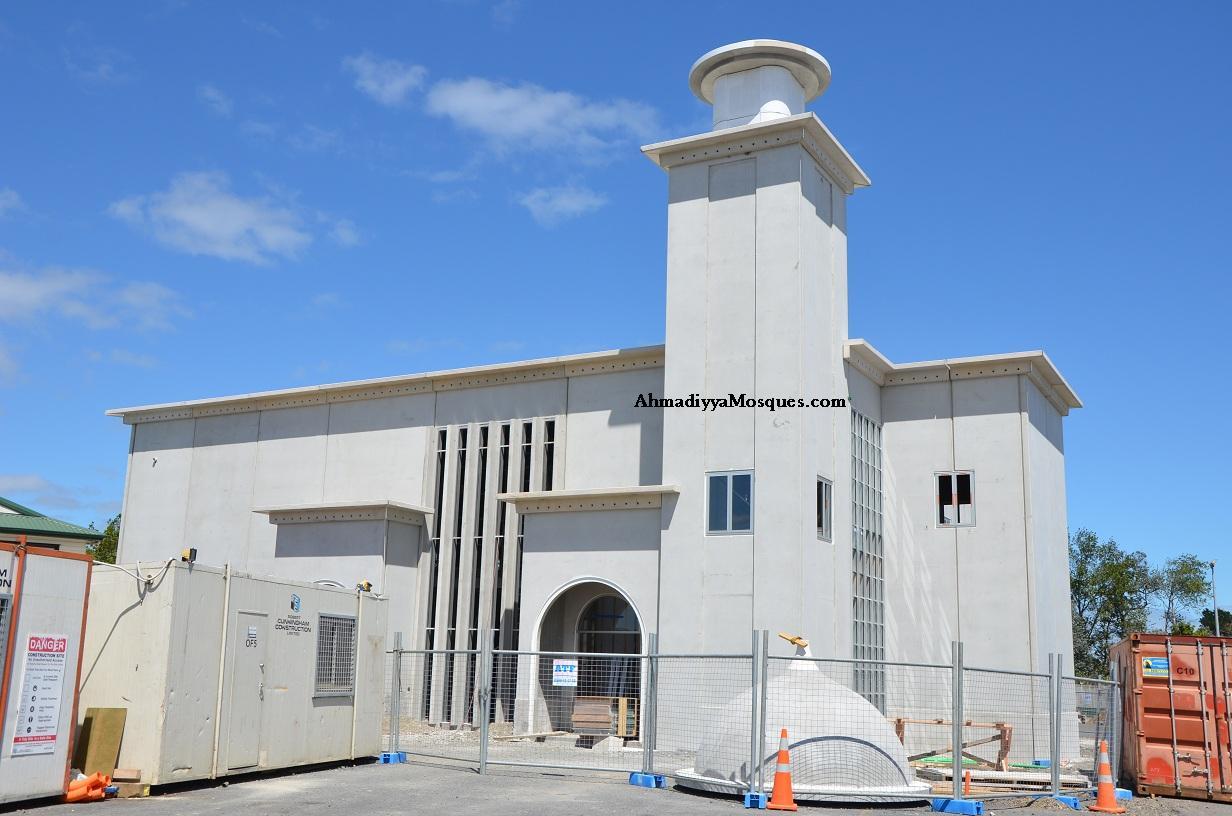 New Zealand Mosque: Ahmadiyya Mosques.com: Baitul Muqeet