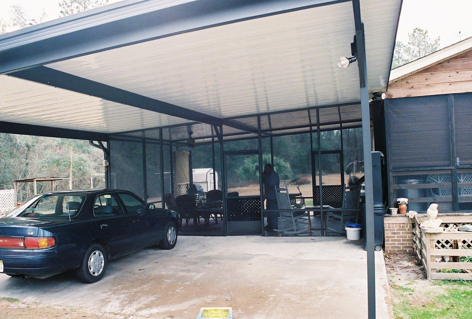 Pool Enclosures Usa Aluminum Carport Project