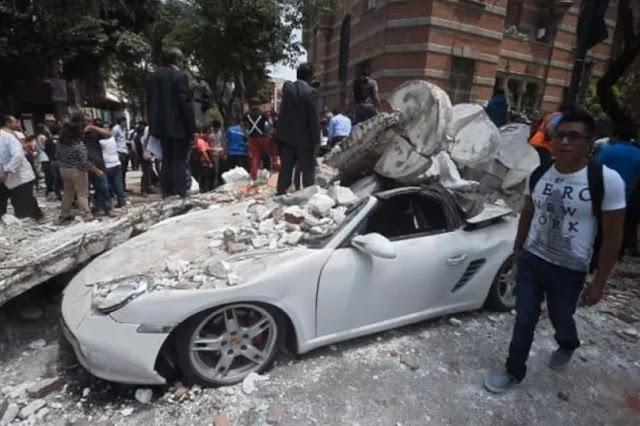 7.1 magnitude earthquake jolts Mexico