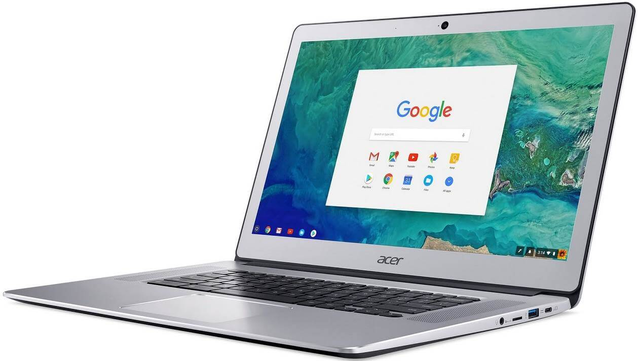 New Acer Chromebook 15 Boasts Larger Display and Longer Battery Life