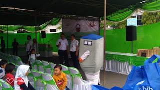 PT KAI Daop 3 Cirebon Bersama YCPAB Gelar Acara Berbagi Untuk Anak Negeri